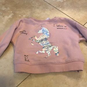 Unicorn sweater Zara